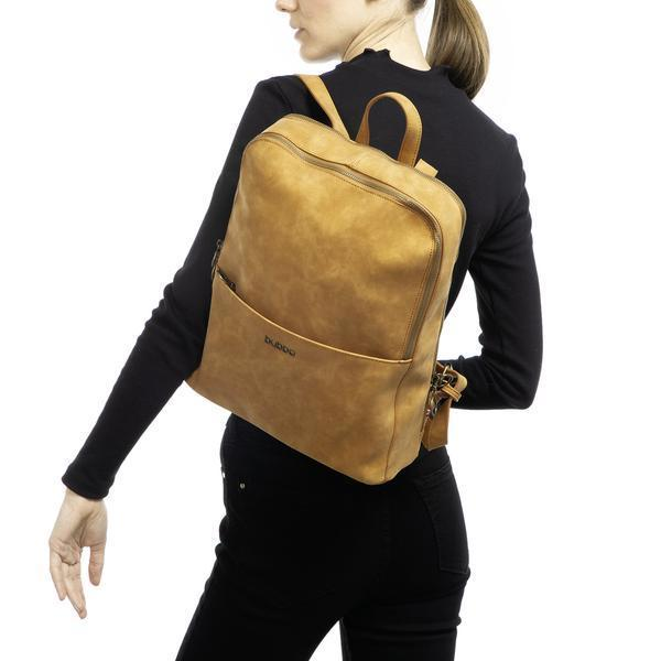 Mochila Cartera Sophie Camel Bubba Bags