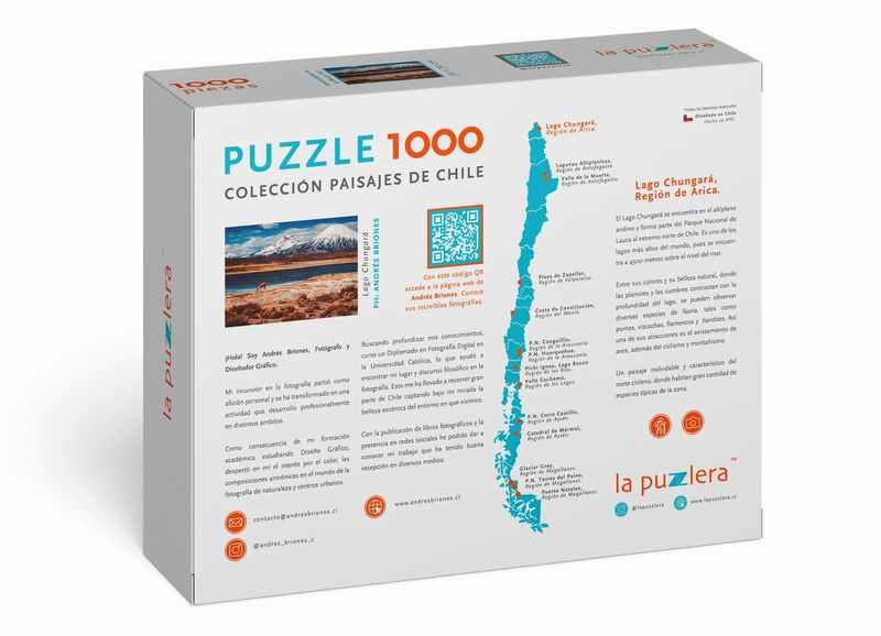 Puzzle Lago Chungara 1000 Piezas