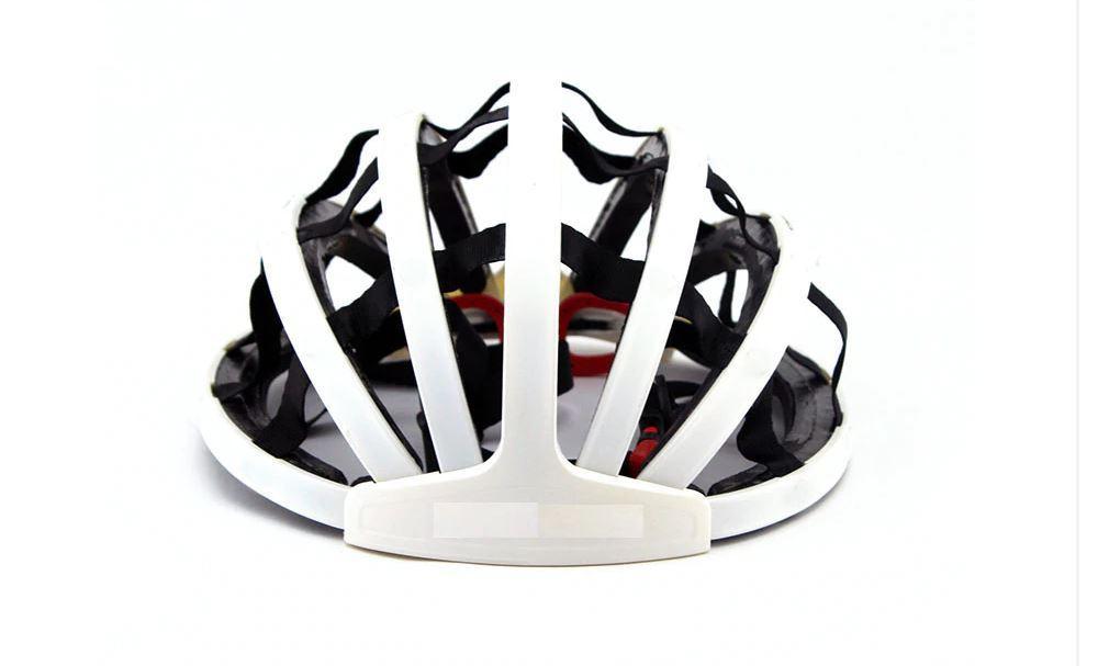 Casco plegable ultra liviano Scooter y Bicicleta Blanco