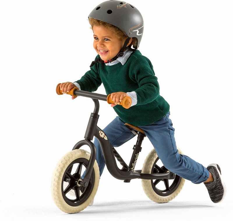 Bicicleta Aprendizaje Niño Charlie Negro Chillafish