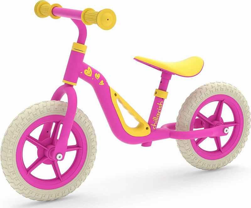 Bicicleta Aprendizaje Niño Charlie Rosa Amarillo Chillafish