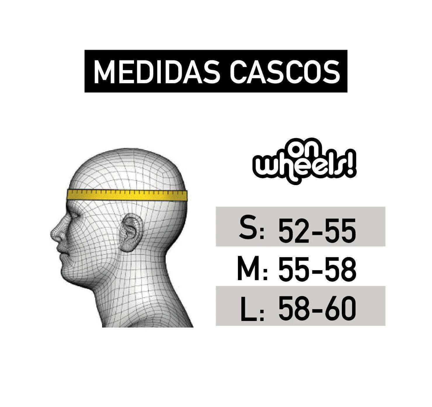 Casco Celeste Talla S OnWheels