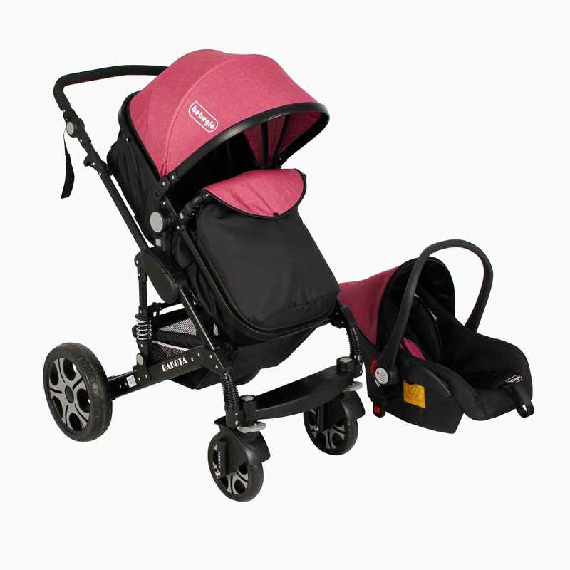 Coche Travel System Dakota RS-13660-2 Fucsia