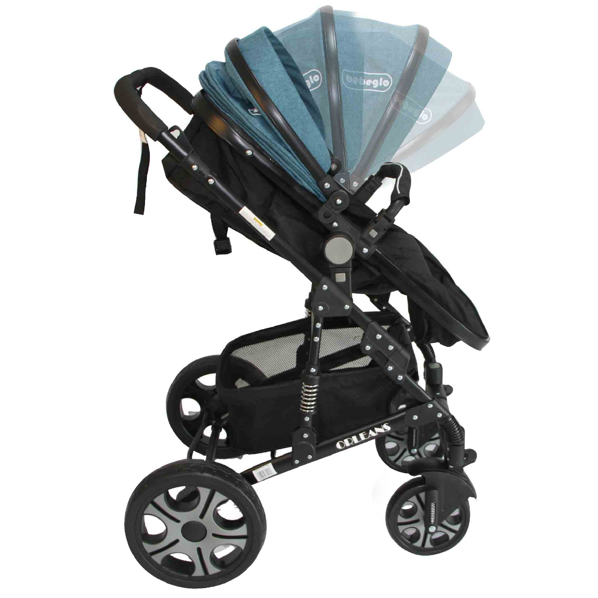 Coche Travel System Orleans RS-13650 Turquesa