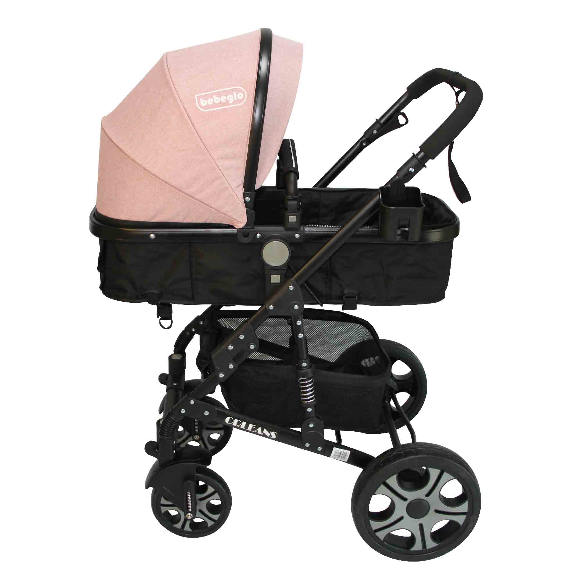 Coche Travel System Orleans RS-13650 Rosado