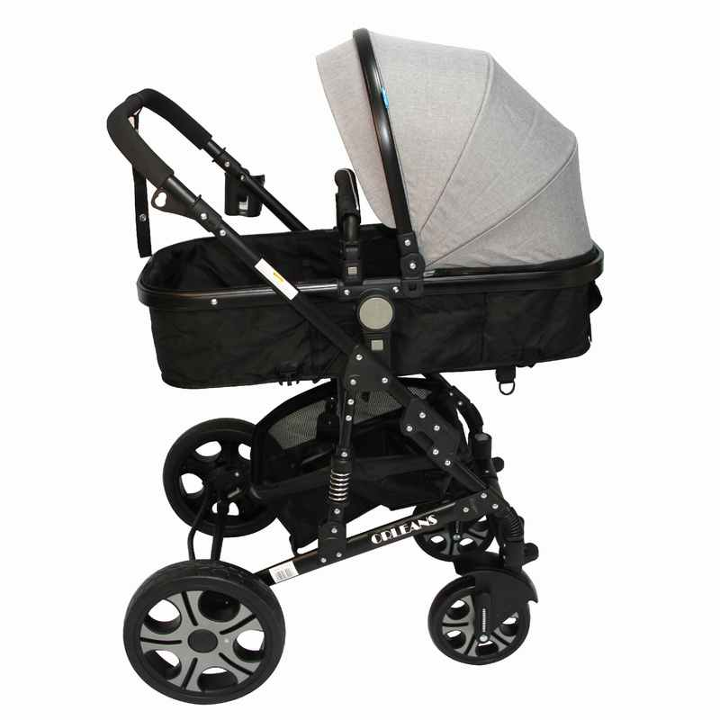 Coche Travel System Orleans RS-13650 Gris