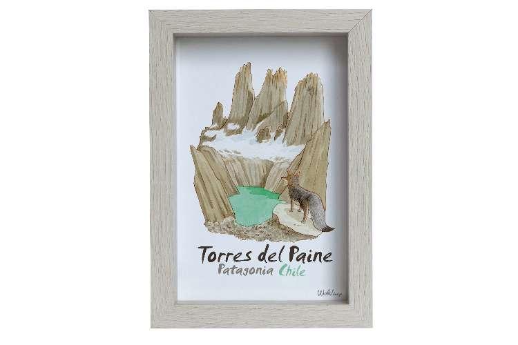 Cuadro 10 x 15 Torres del Paine