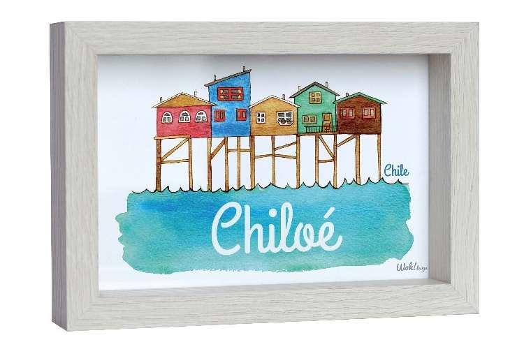 Cuadro 10 x 15 Chiloé