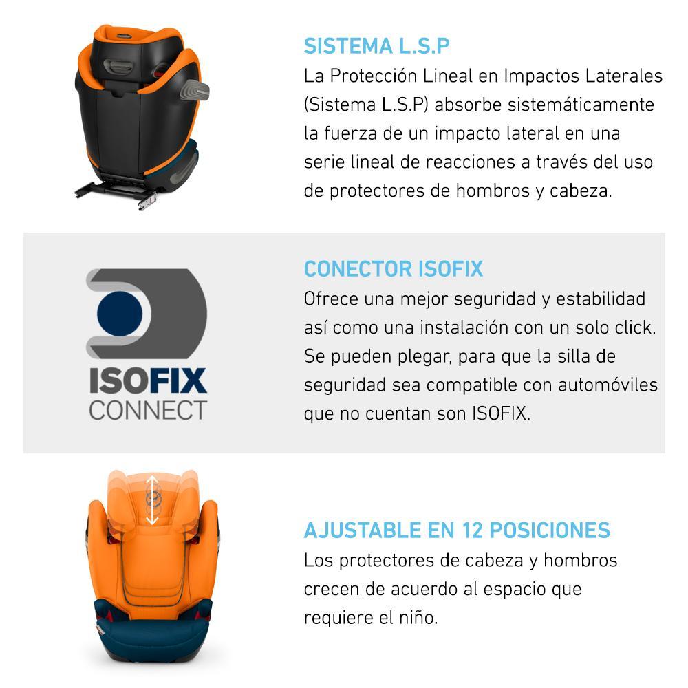 Silla Butaca Solution S-fix Deep Black