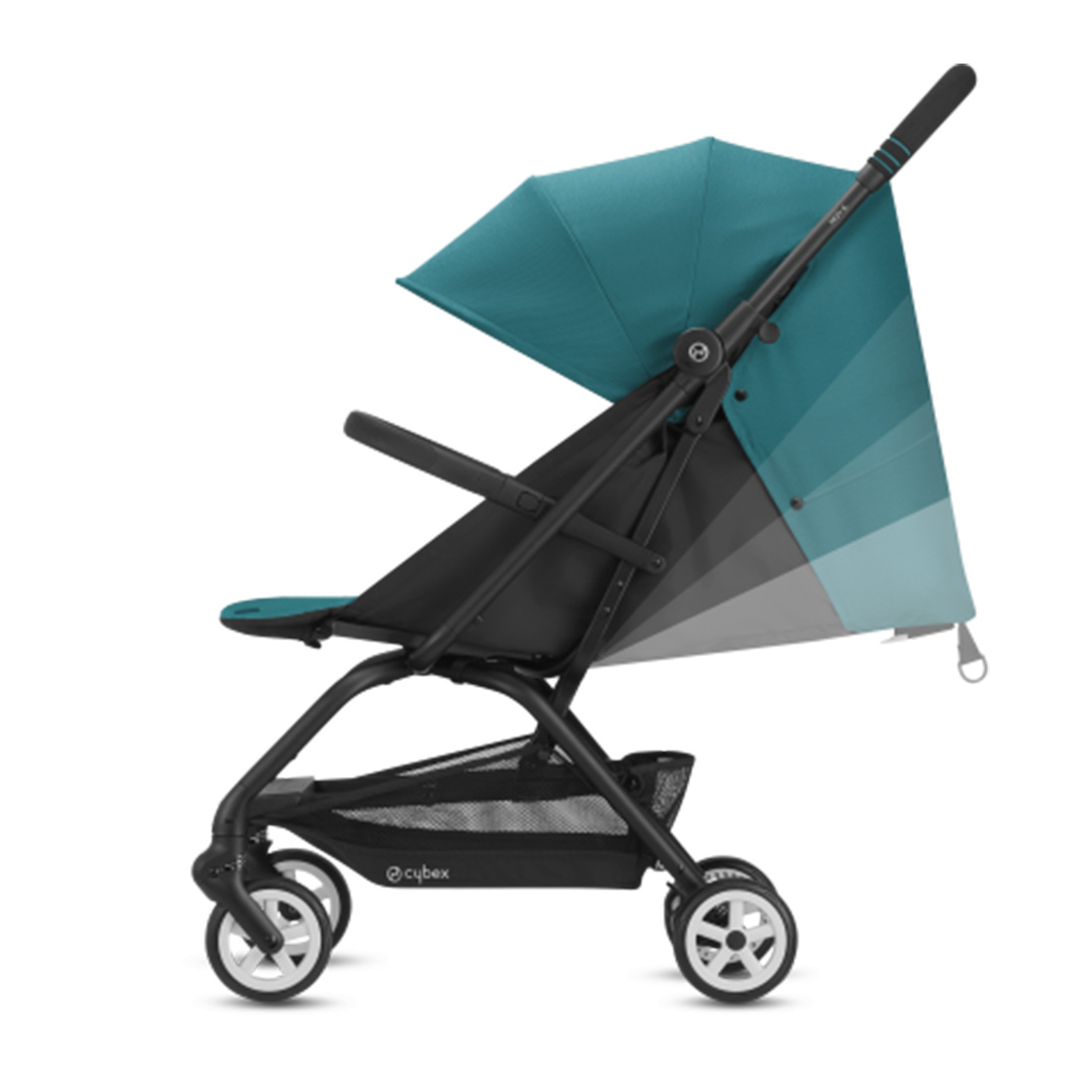 Coche Travel System Eezy S v2 Gris + Aton + Base