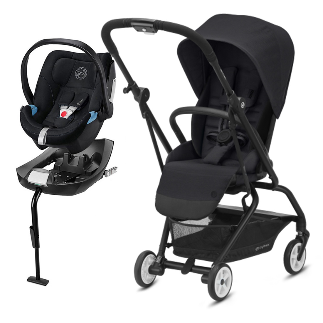 Coche Travel System Eezy S TW v2 DB + Aton5 + Base