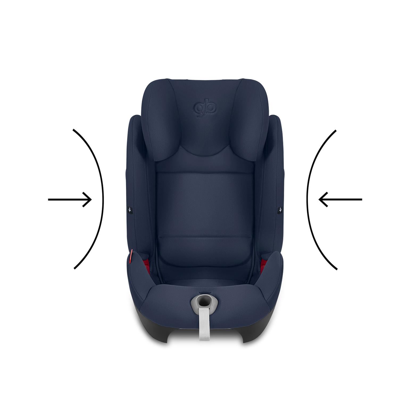 Silla de Auto Convertible Uni All Gris