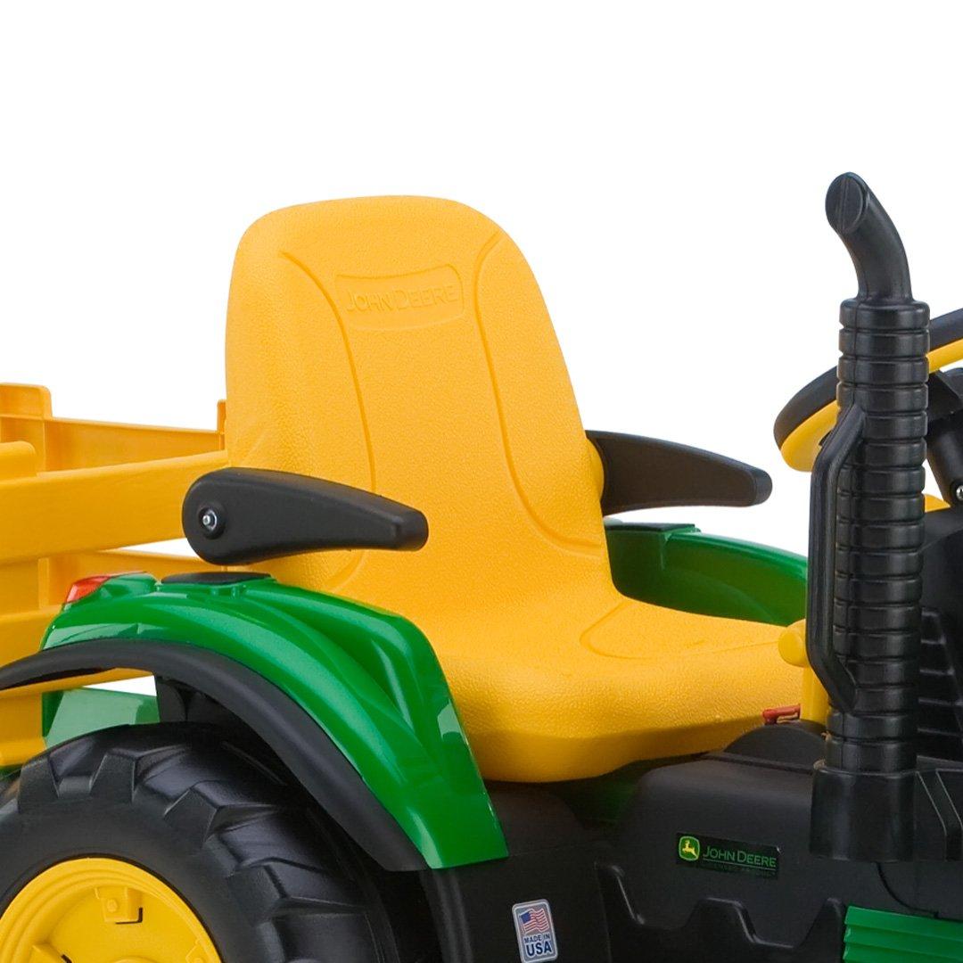 Tractor Eléctrico John Deere Verde