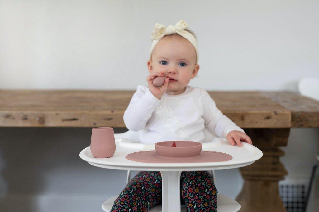 Vajilla First Foods Set Blush