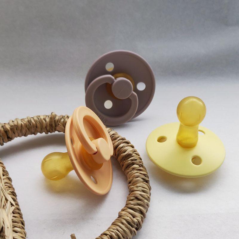 Chupete Bibs Colour X2 Talla 2 Blush/Ivory