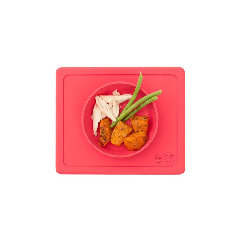 El individual + plato Mini Bowl Coral