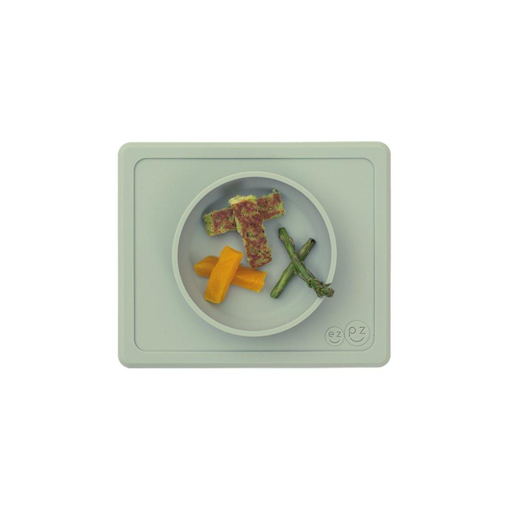 El individual + plato Mini Bowl Sage
