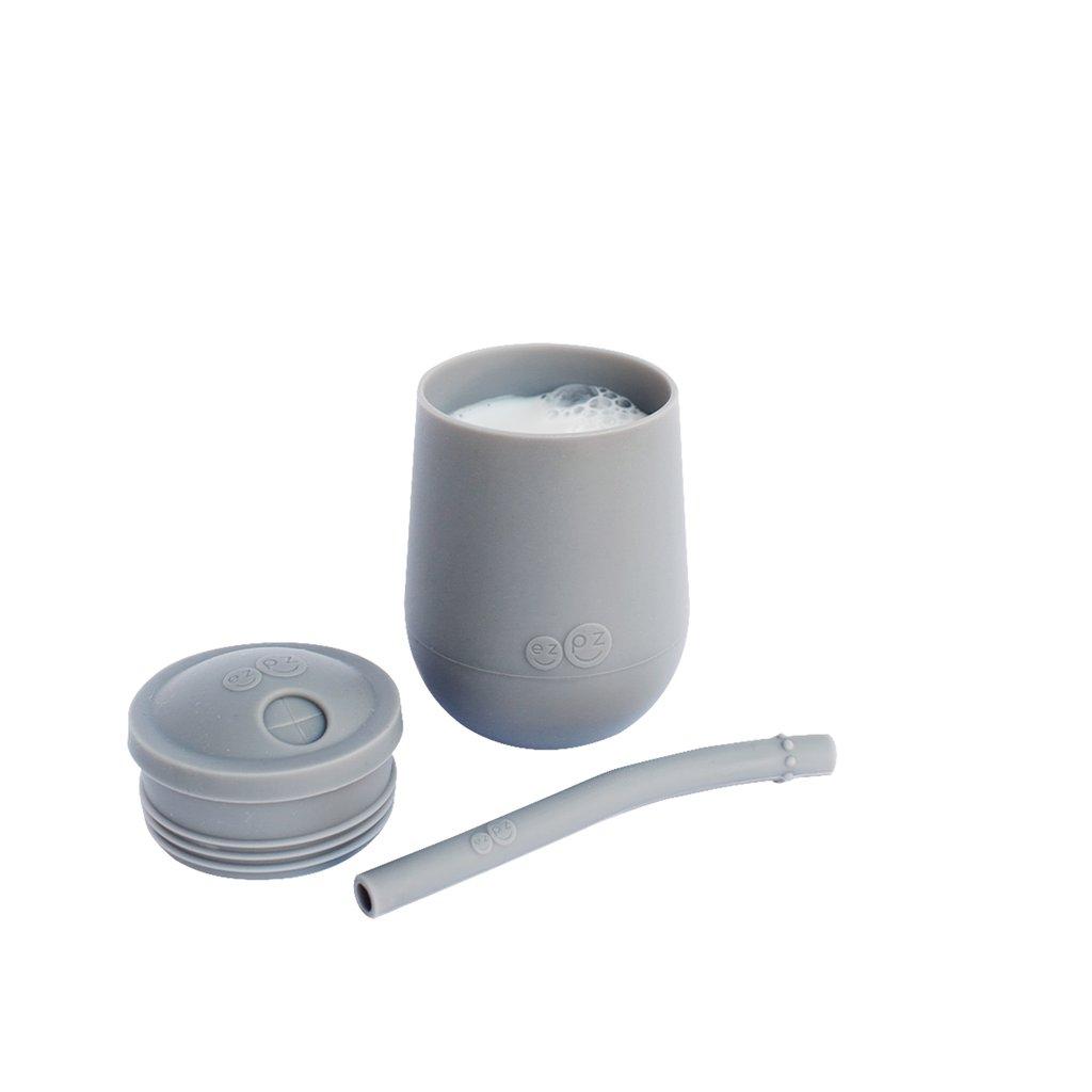 Vaso + Bombilla Mini Gray