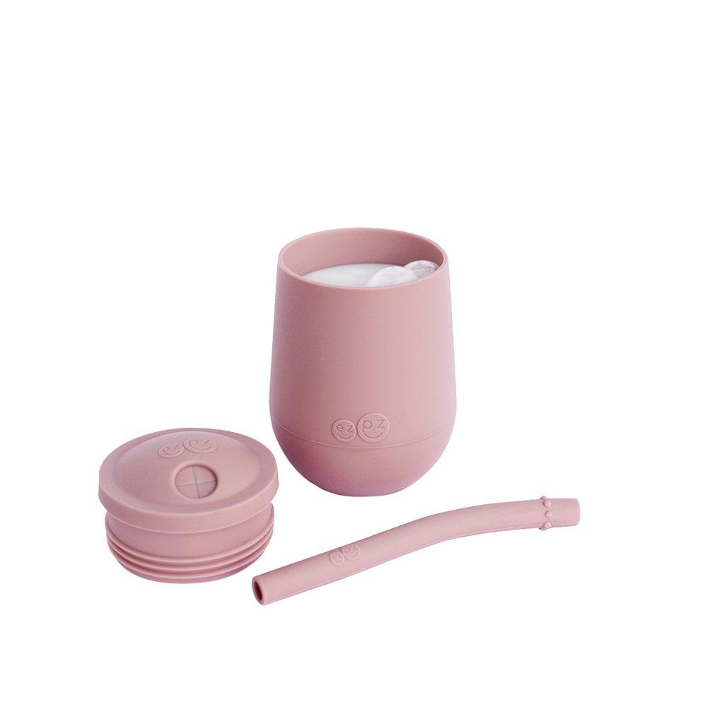 Vaso + Bombilla Mini Blush