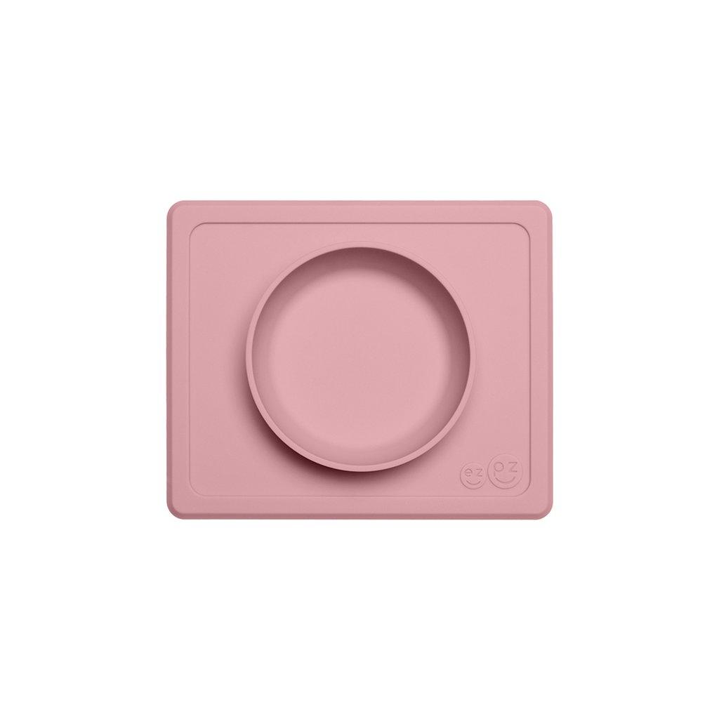 El individual + plato Mini Bowl Blush