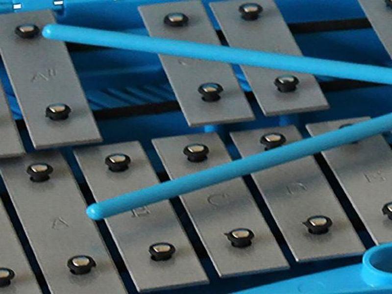 Metalófono 25 Notas Allegro - Azul