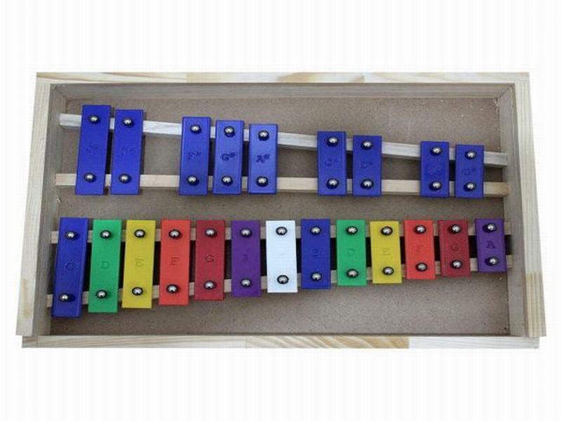 Metalófono 22 Notas Allegro - Color