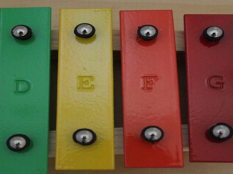 Metalófono 15 Notas Allegro - Color