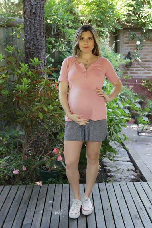 Short Maternal Venecia Gris SH VENECIA GR L