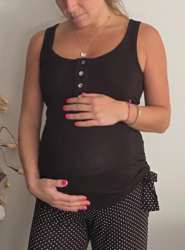 Pijama Maternal Y Lactancia Alysa Puntos P BK PANTL PTBK XL