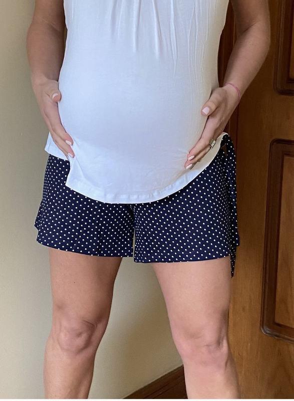 Short Maternal Navy SH PTOS AM S