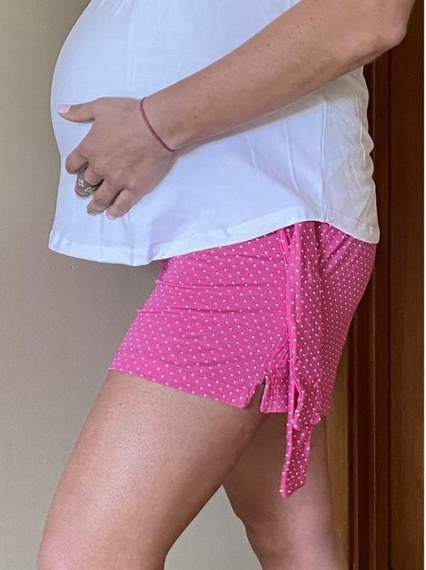 Short Maternal Pink SH PTOS FC XL