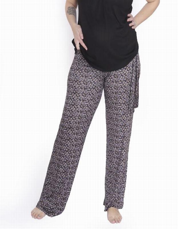 Pantalon Alysa Estampado Negro PANTL ALYSA ENE L