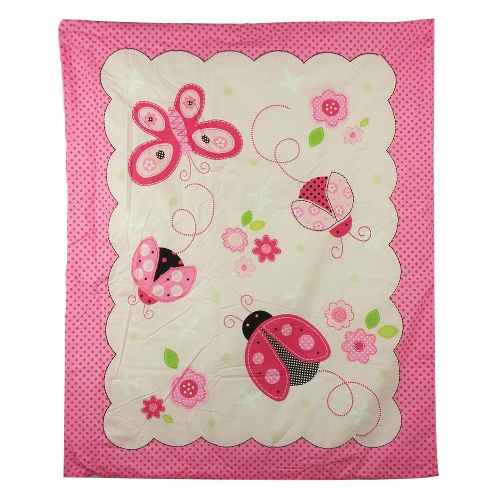 Set de cuna rosado  5 pcs 2000R