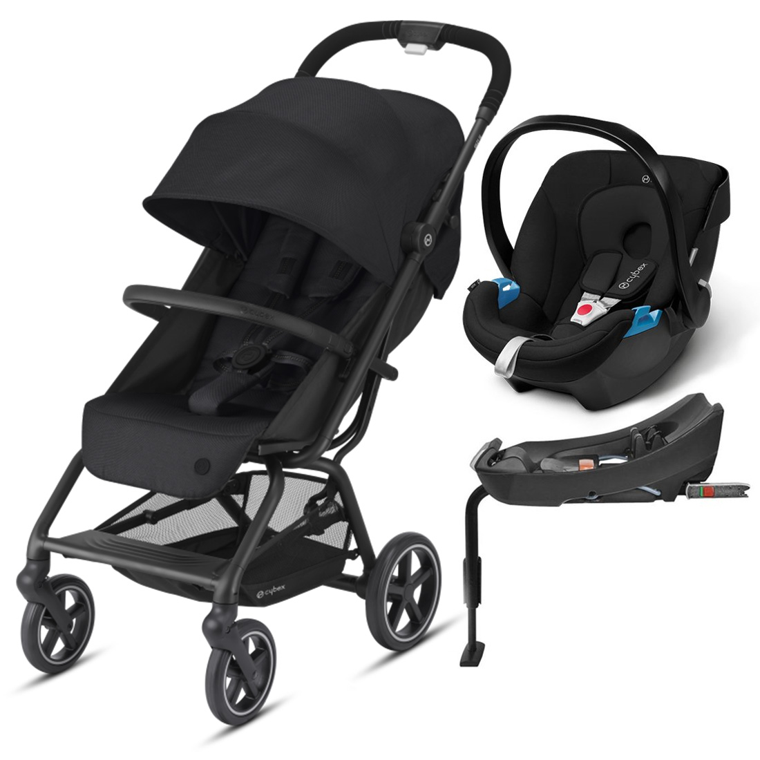 Coche Travel System Eezy S Plus v2 NG + Aton + Base