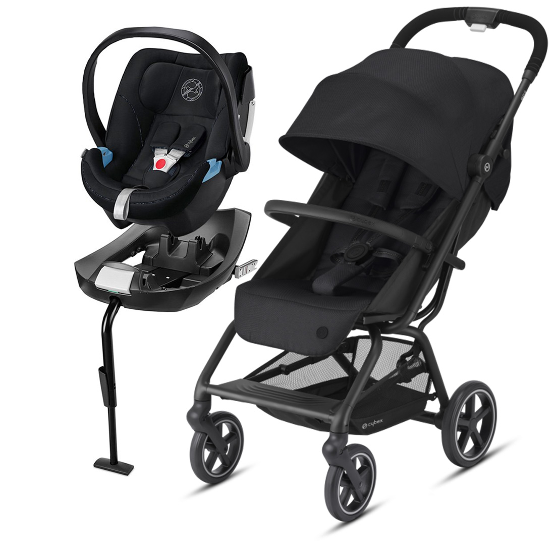 Coche Travel System Eezy S Plus v2 NG + Aton5 + Base
