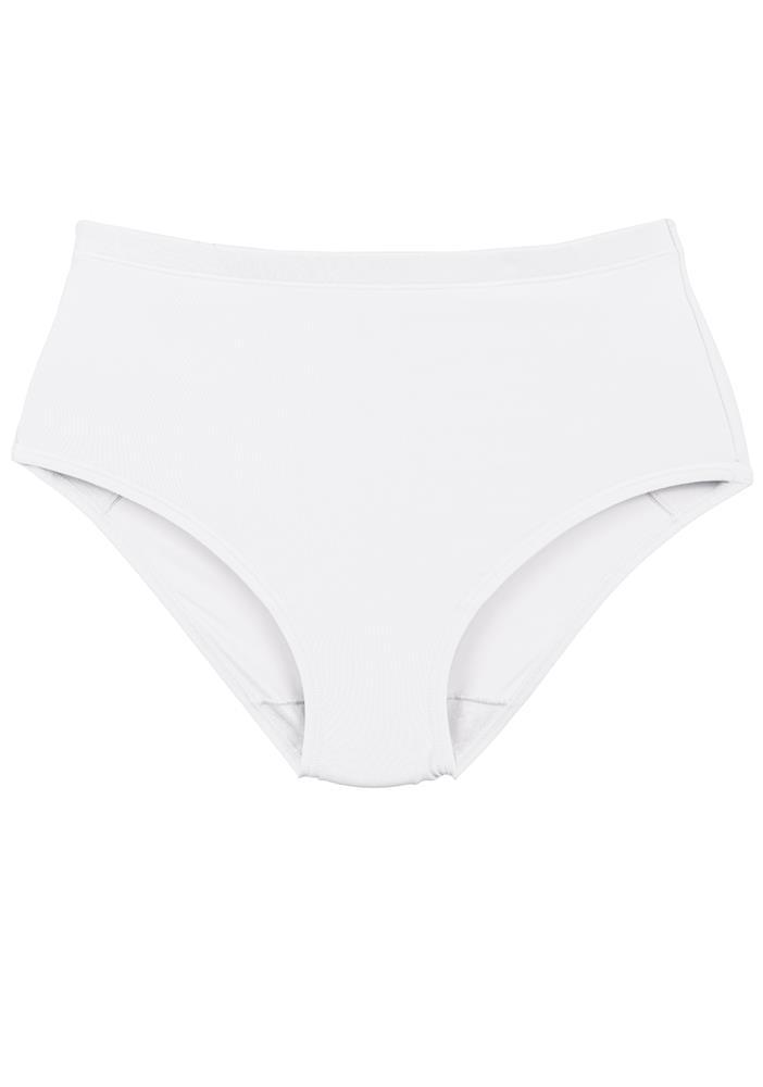 Calzon Postparto Microfibra Blanco