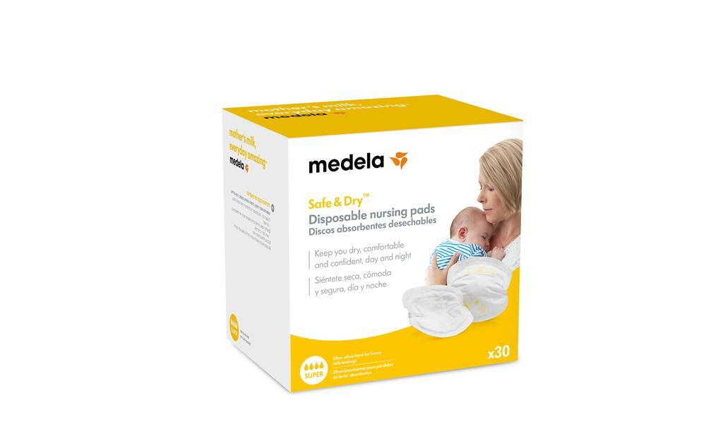 Absorbentes De Leche Materna 30 Unidades