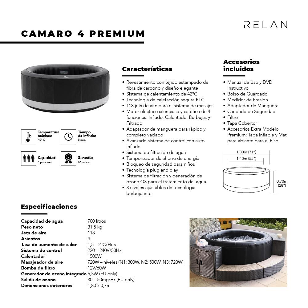 Hot Tub | Camaro 4 Premium