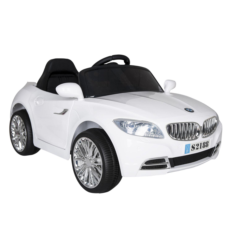 Auto Coupe Eléctrico Bebesit  - Blanco