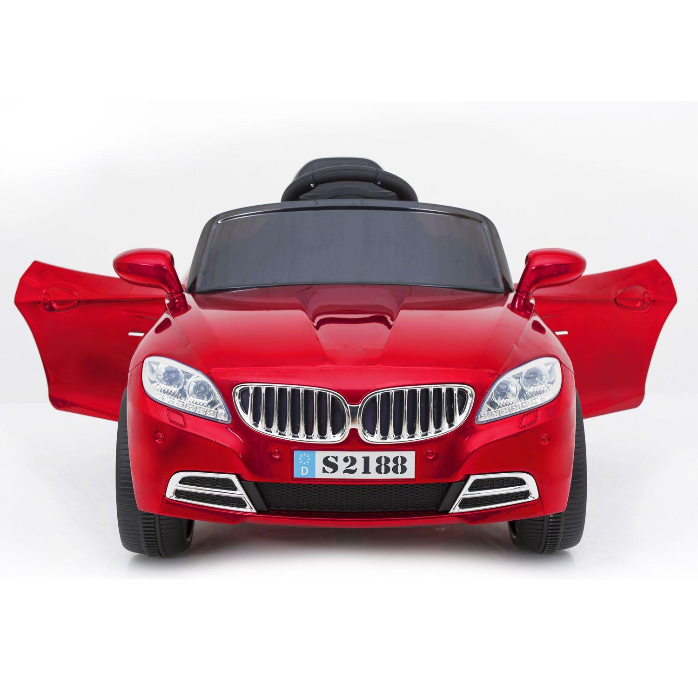 Auto Coupe Eléctrico Bebesit  - Rojo