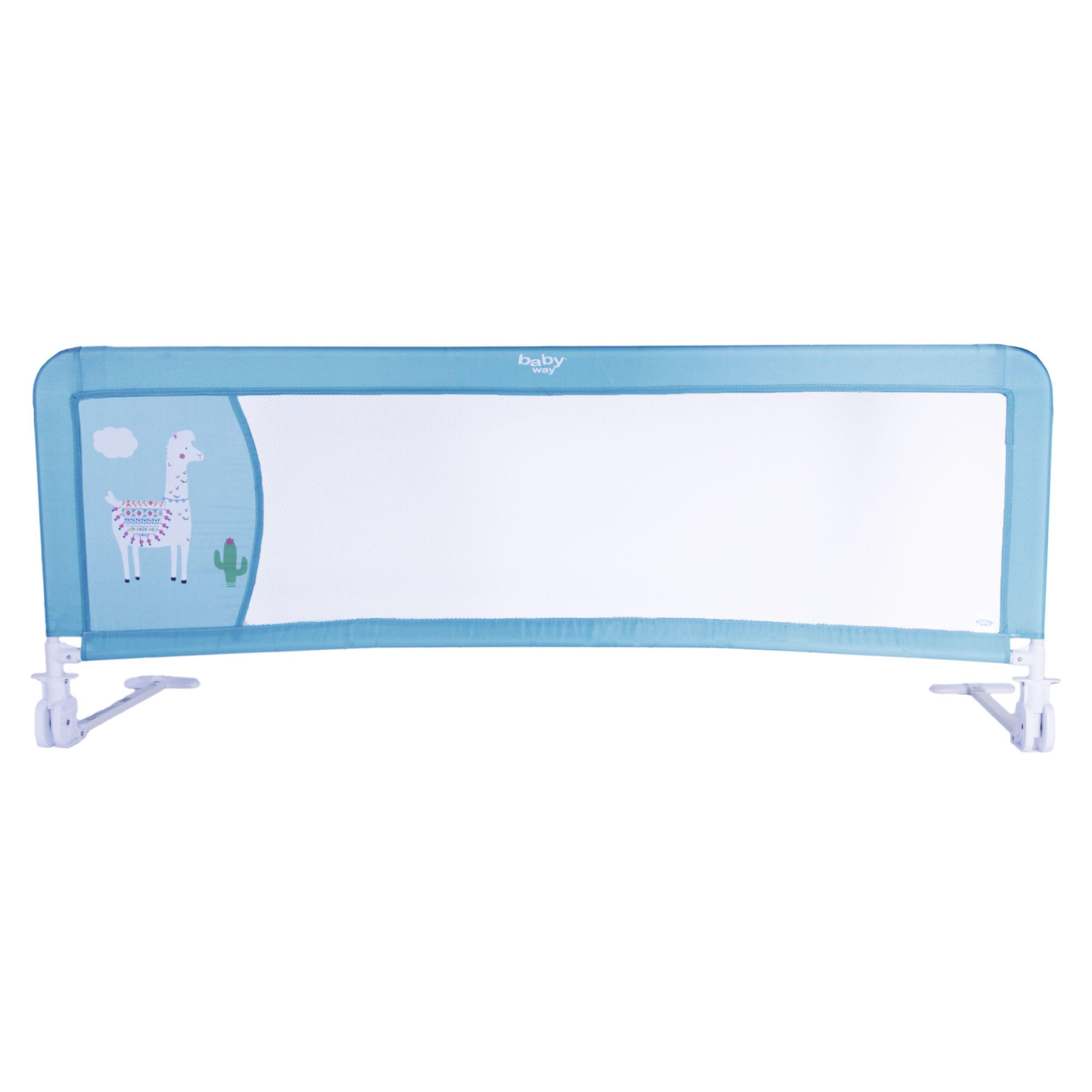 Baranda De Seguridad De Cama 150 Cms Color Turquesa Baby Way