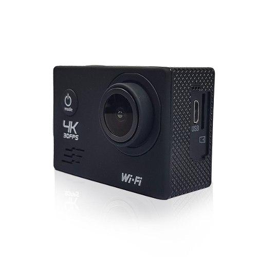Cámara Deportiva 4k Lhotse H1 Video Con Accesorios