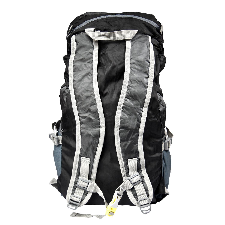 Mochila Trekking Lhotse Plegable 35Lt Negra