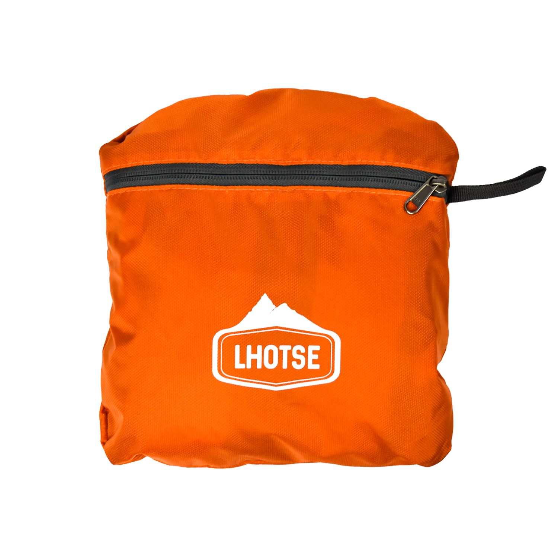 Mochila Outdoor Lhotse Plegable 25Lt Naranja