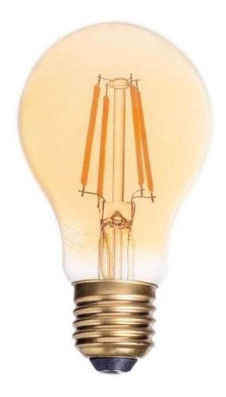Ampolleta Ledzone Bola Vintage Filamento 4w E27
