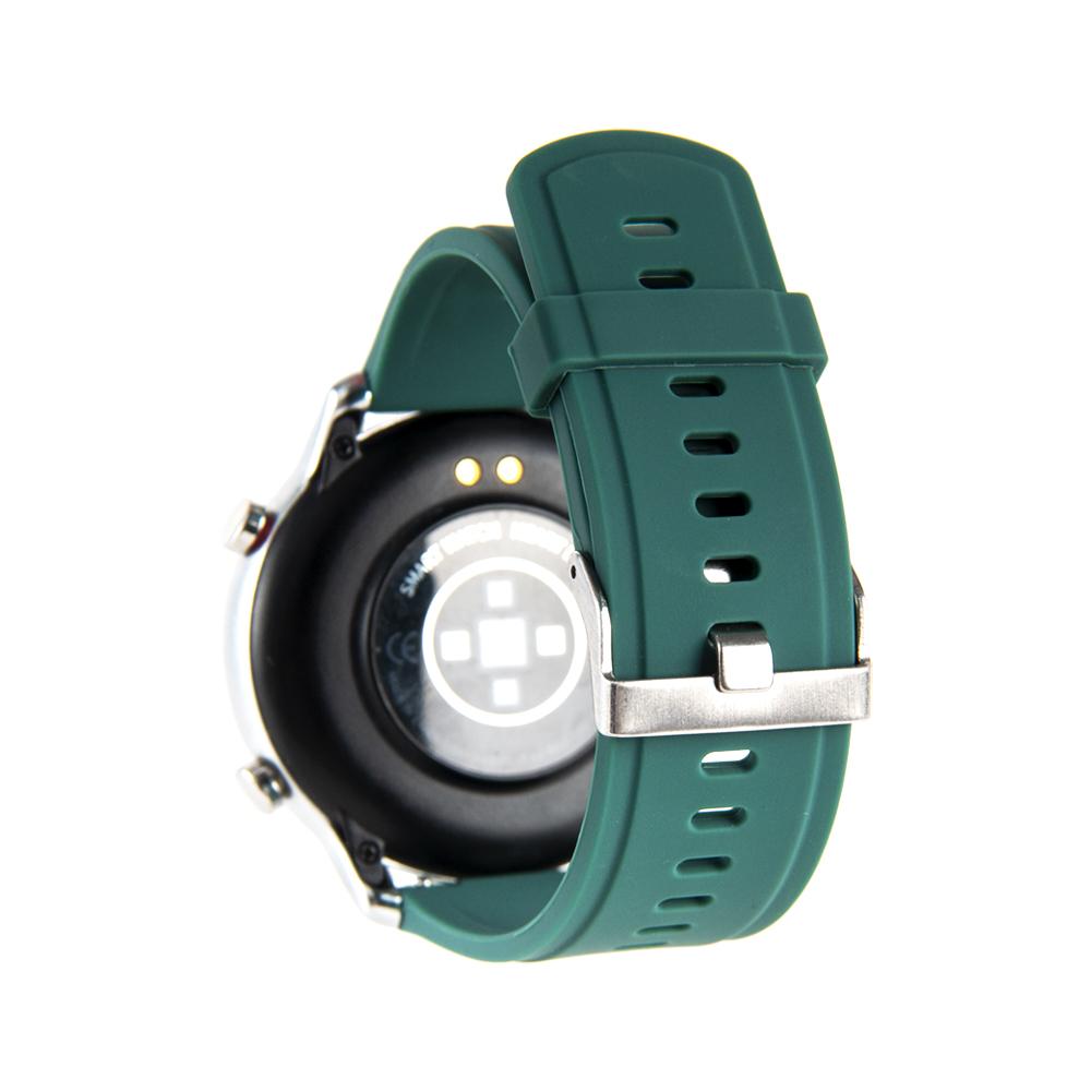 Reloj Smartwatch Lhotse RD7 Plateado Verde