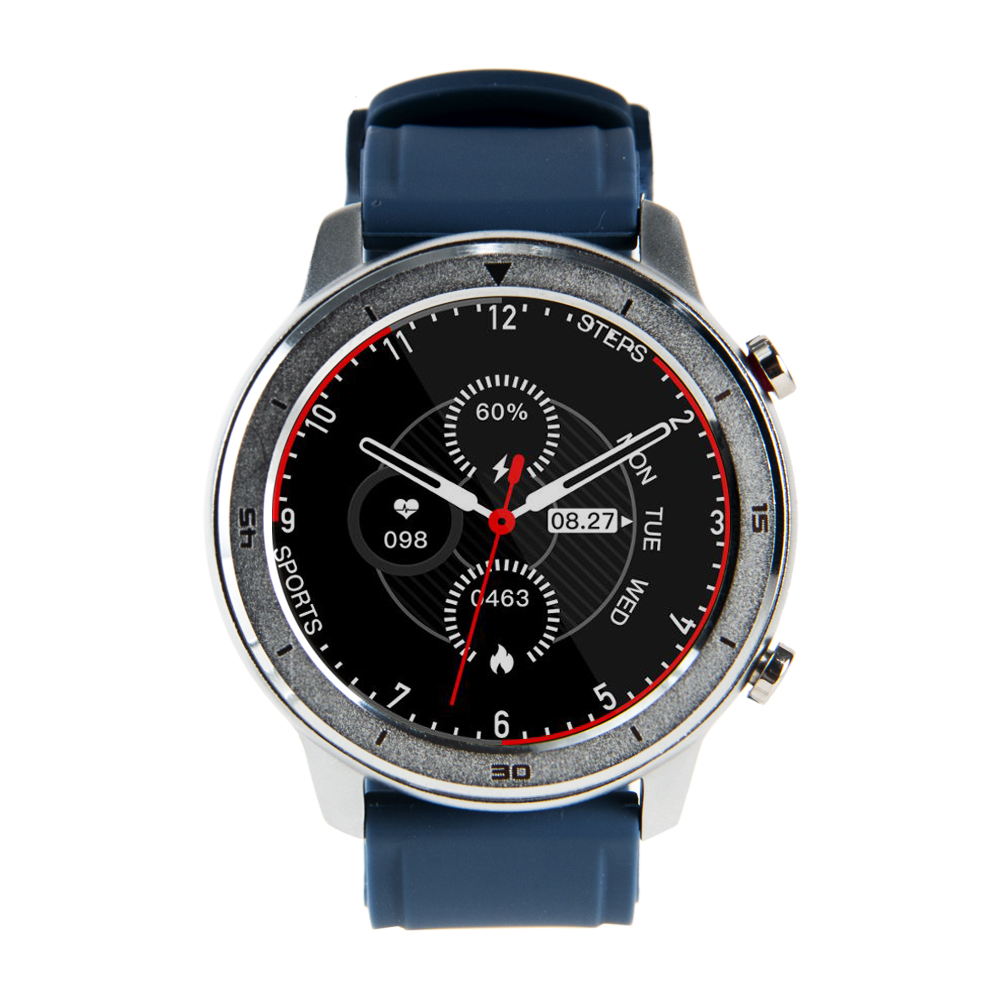 Reloj Smartwatch Lhotse RD7 Plateado Azul