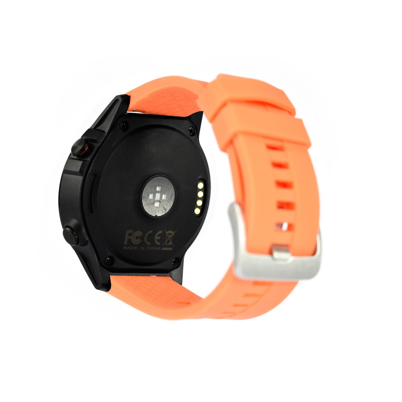 Reloj Smartwatch Lhotse Stone M4 GPS Negro Naranjo