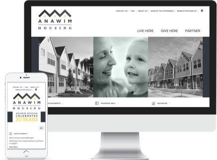 Anawim Housing Responsive Website