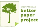 Logo of the Better Paper Project, this month's Featured Member